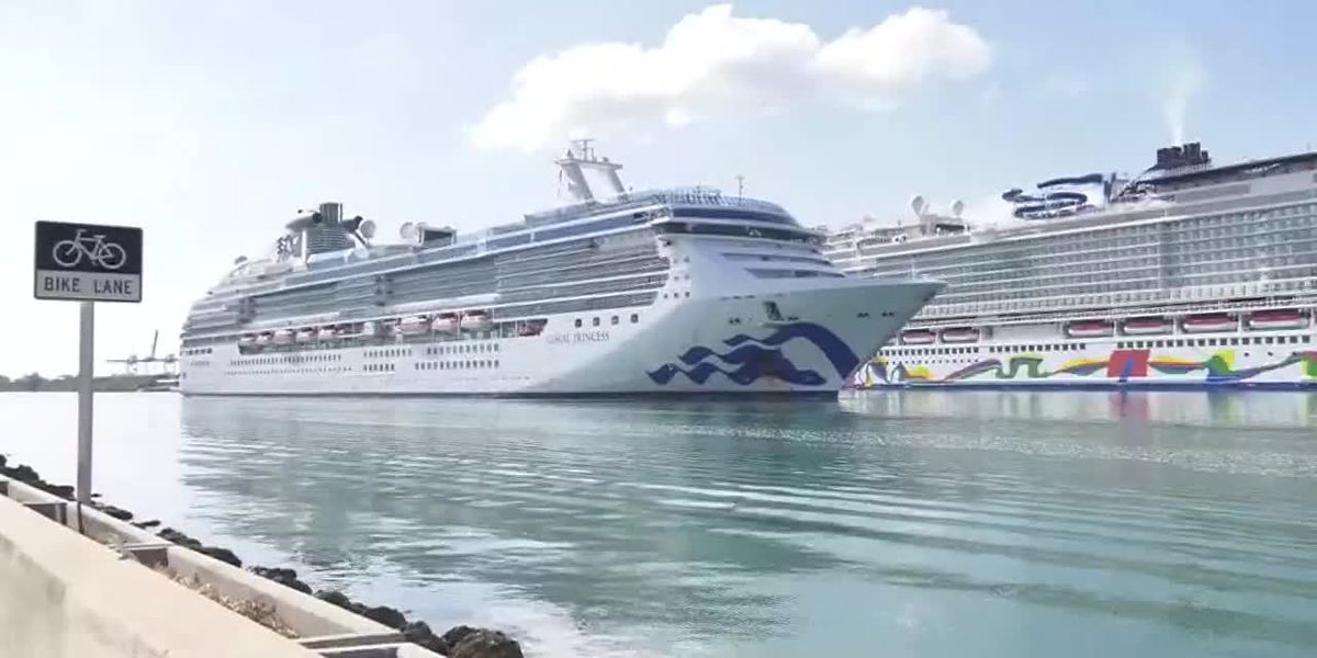 Passengers slowly disembark coronavirus-stricken cruise ship in Miami