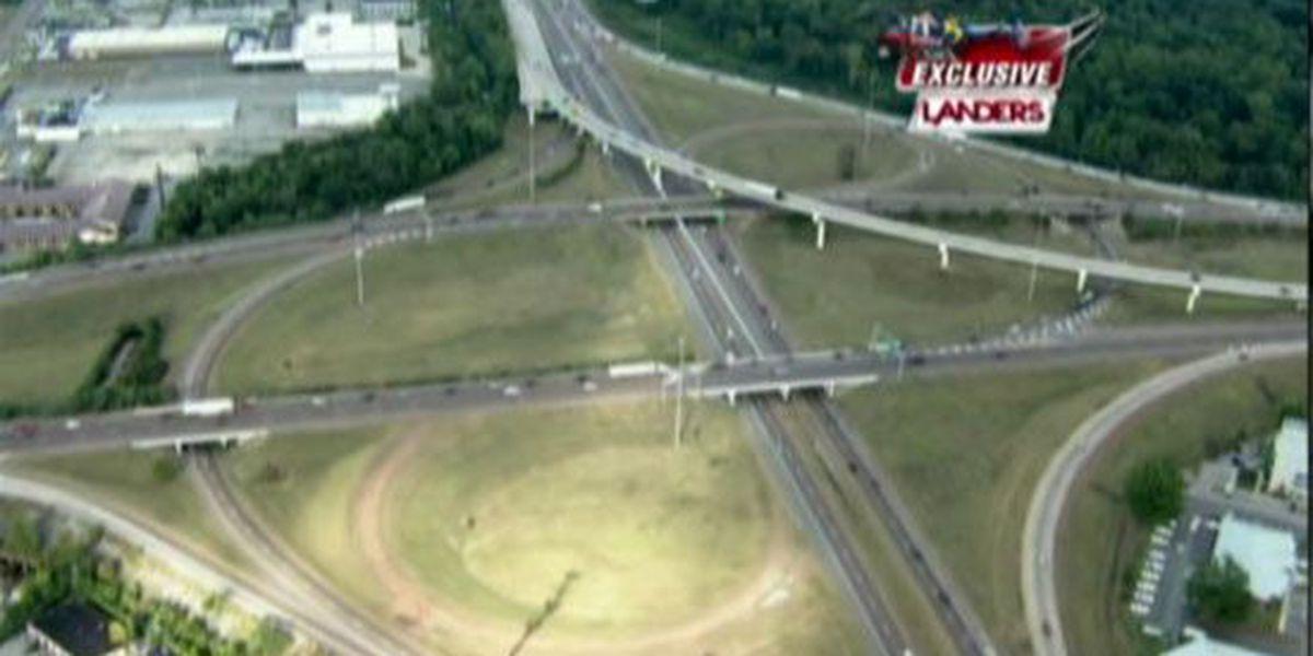 I-240 lane closures impact weekend travelers