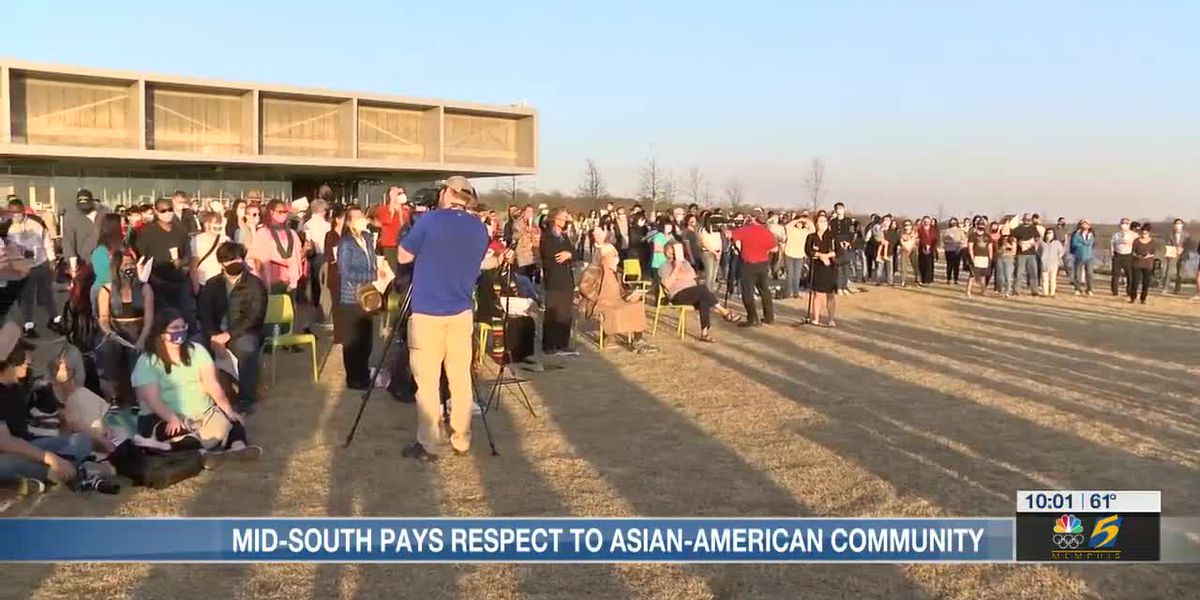 Mid-South pays respects to Asian-American community with candlelight vigil