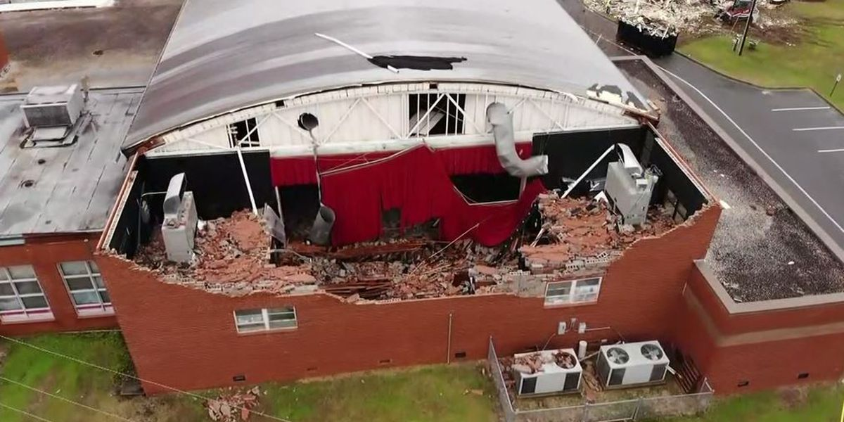 'It just sounded like something exploded': School roof collapses in NC storm; 3 students injured