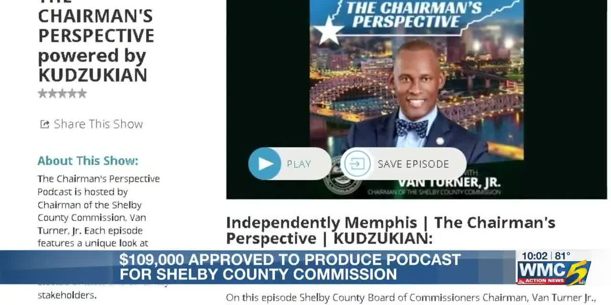 Shelby County Commission set to spend thousands on monthly podcast production