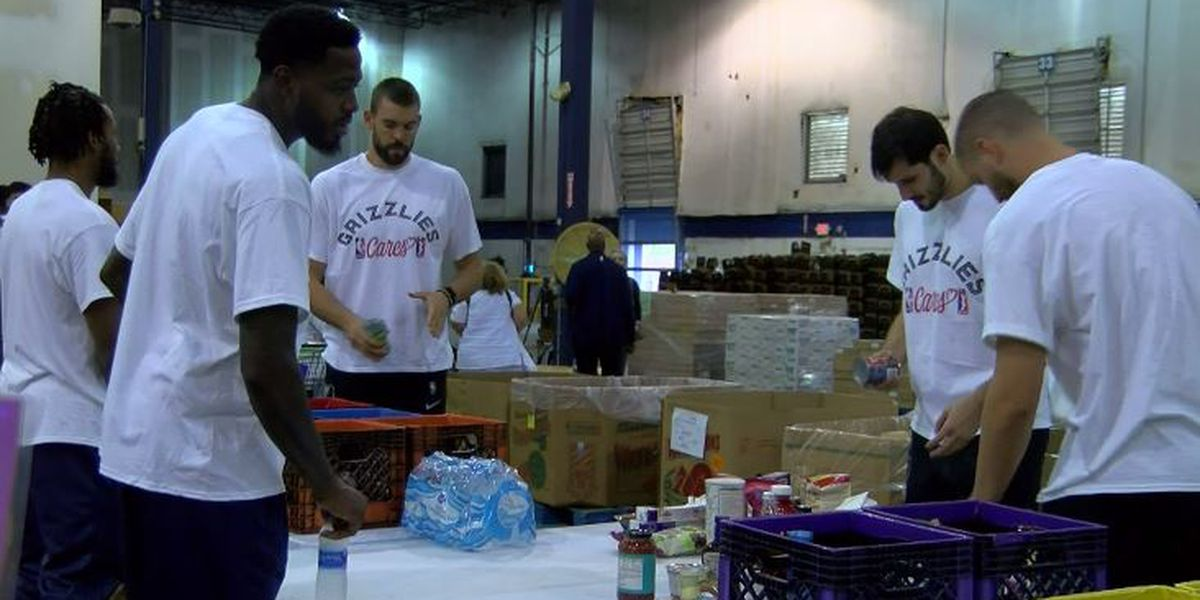 Memphis Grizzlies host food drive to benefit Mid-South Food Bank