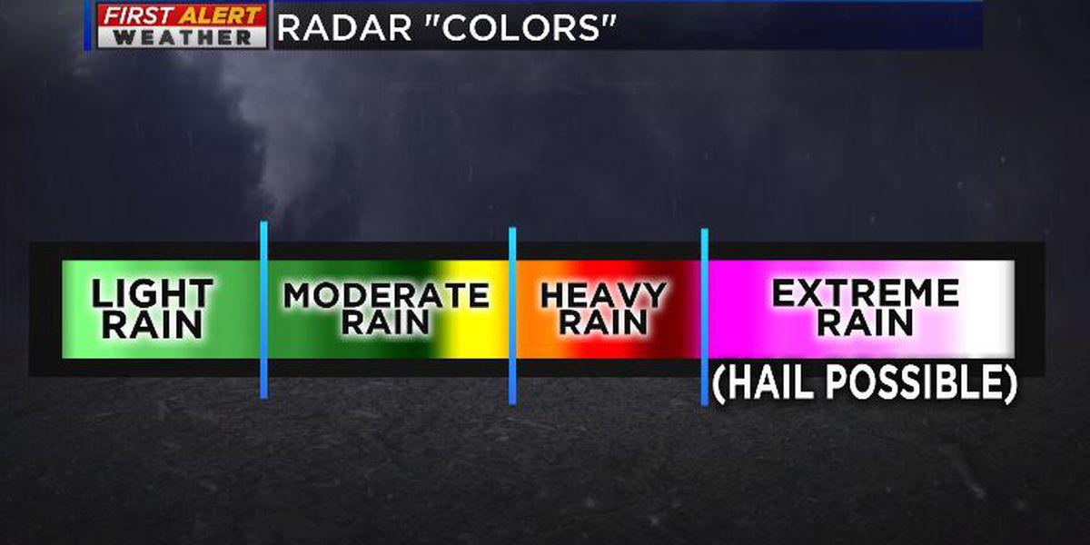 Breakdown: The science behind doppler radar 'colors'