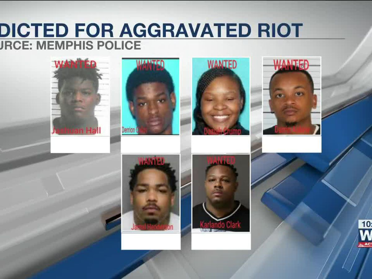 MPD: 6 indicted for aggravated riot after unrest in Frayser
