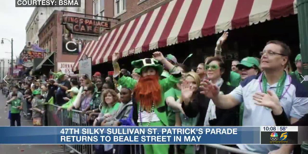 47th annual Silky Sullivan St. Patrick's Parade returns to Beale Street