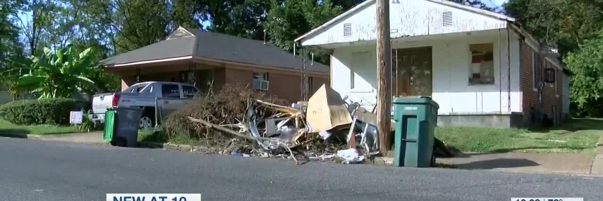 Neighbors frustrated with dumped debris