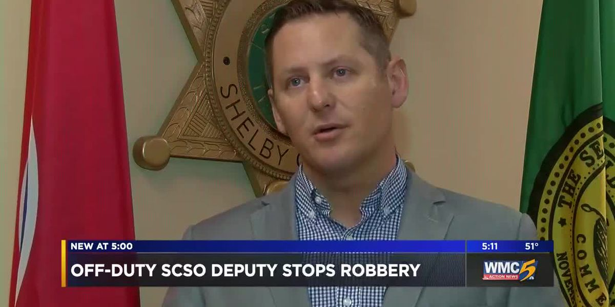 Off-duty deputy stops would-be armed robber, saves clerk