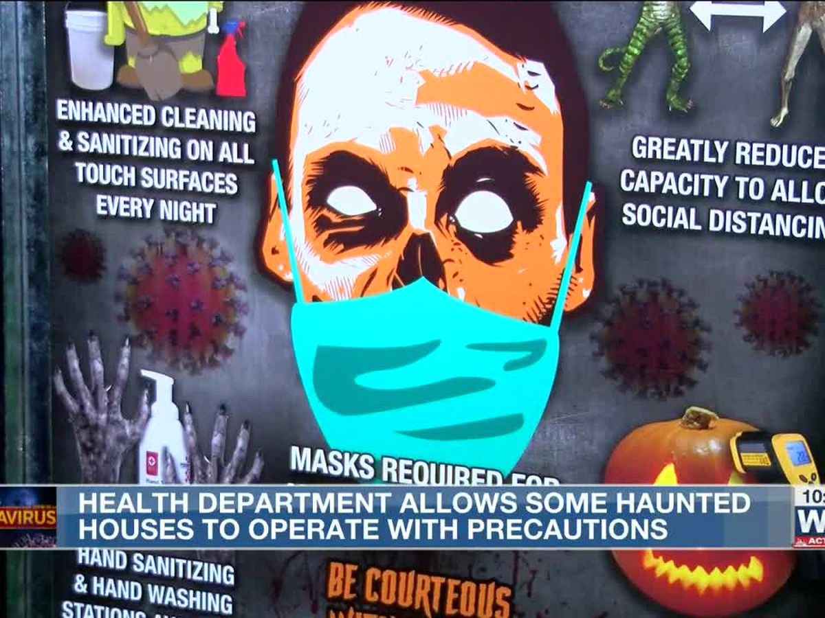 Health officials approve certain haunted houses to operate during pandemic