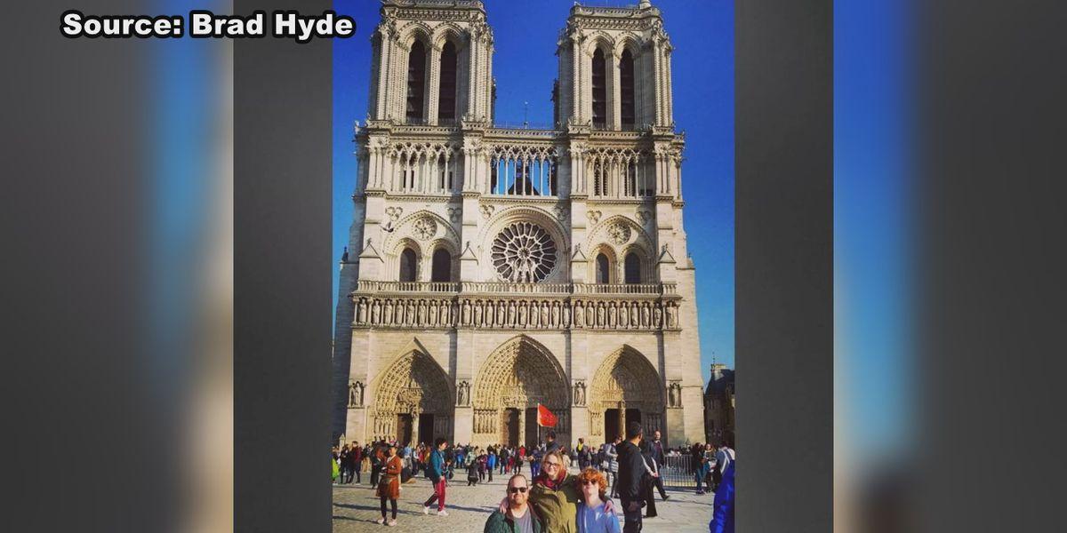 Arkansan recalls Notre Dame visit just two weeks ago