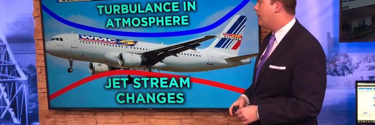 Breakdown: Why airplane turbulence is on the rise