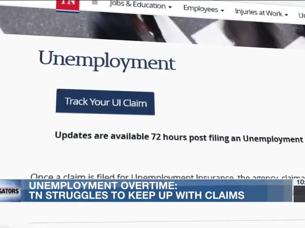Investigators: TN Labor Dept worked 22 years worth of overtime processing unemployment claims