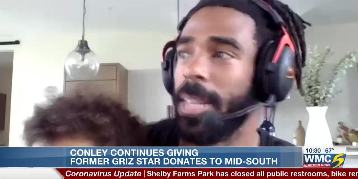 Mike Conley still giving to the Mid-South
