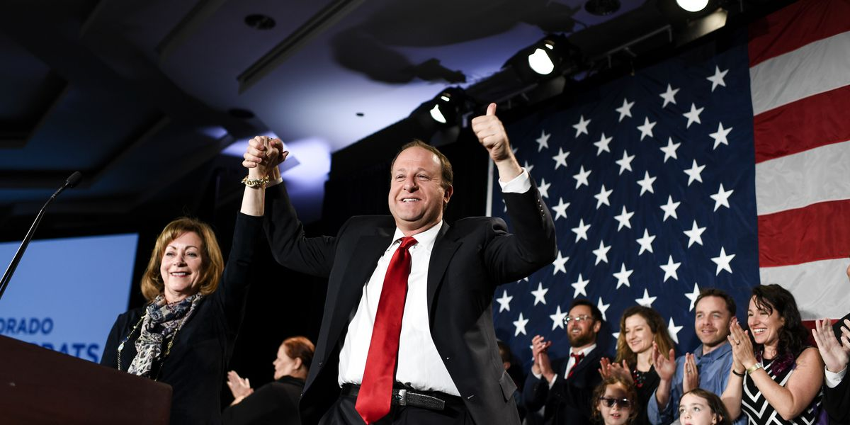 Colorado moves left, electing 1st openly gay governor in US