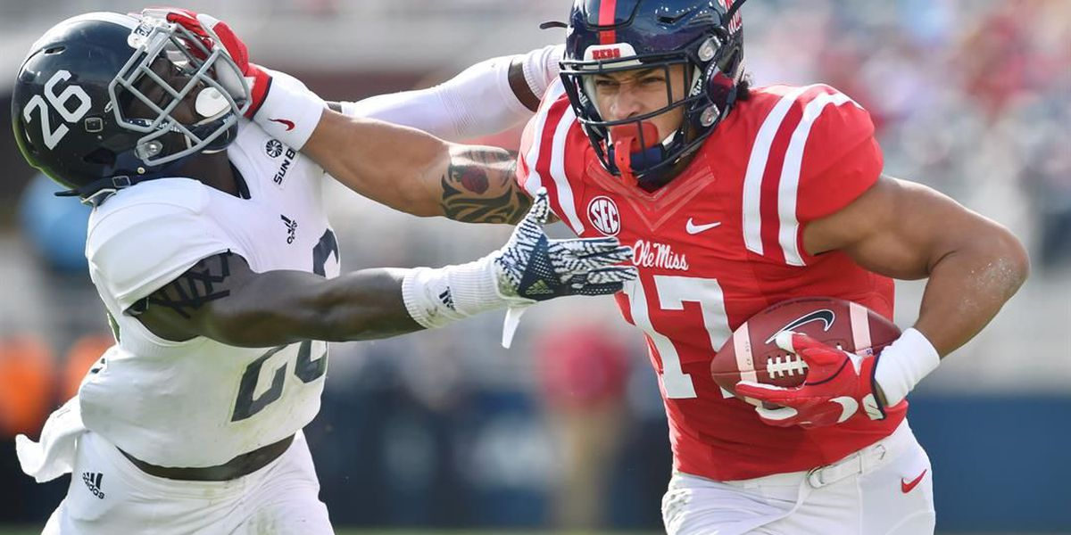 Ole Miss' Engram taken by Giants in 1st round of NFL Draft