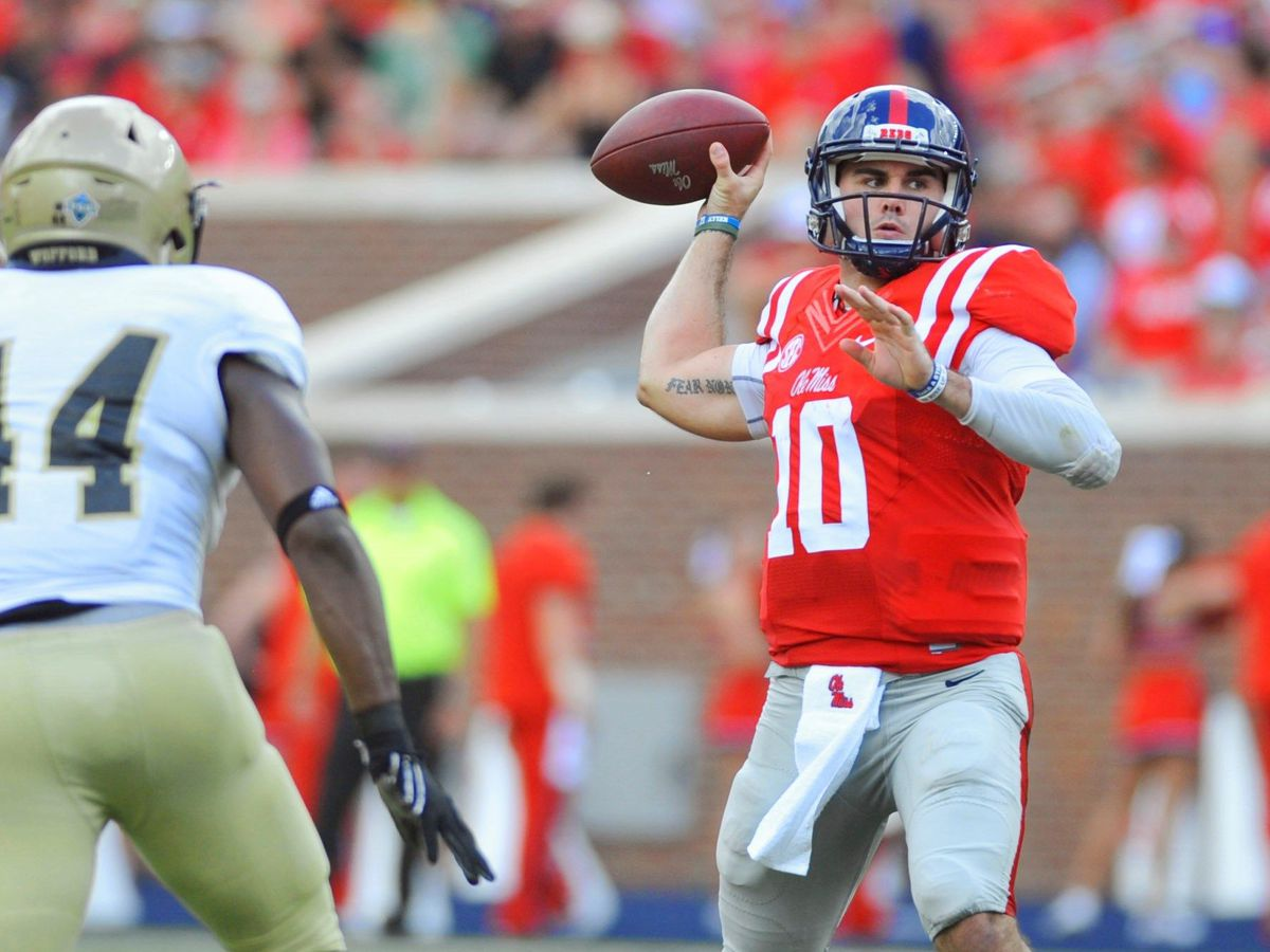 Colts sign former Ole Miss QB Chad Kelly