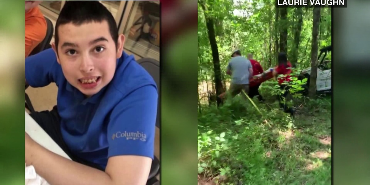 Parents speak out about teen's recovery after being lost in the woods for 10 days