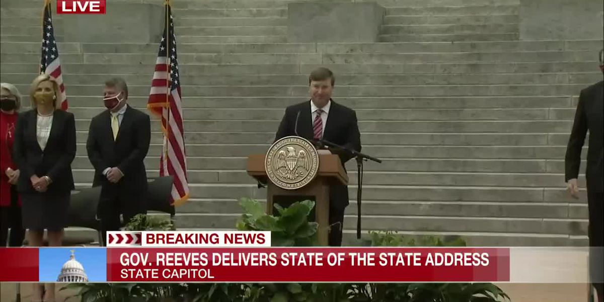 Gov. Reeves focused on jobs, education in 2021 State of the State address