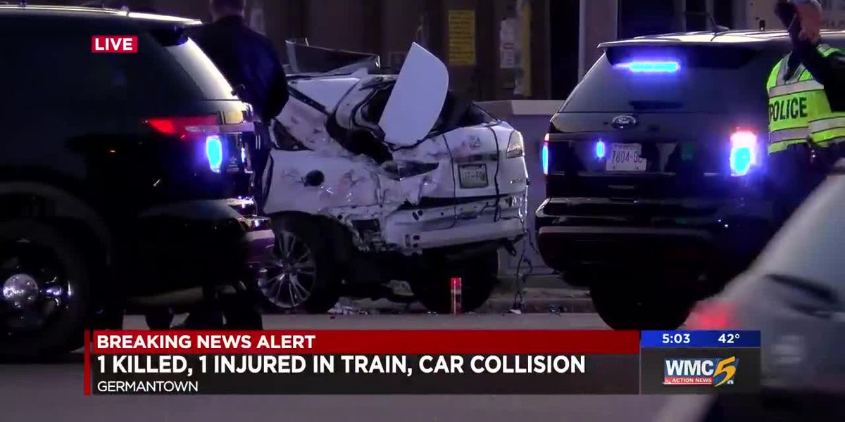 2 dead after train hits car in Germantown