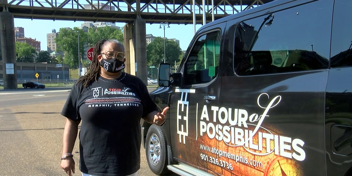 Local group gives tour of black historical sites in Memphis to celebrate Juneteenth