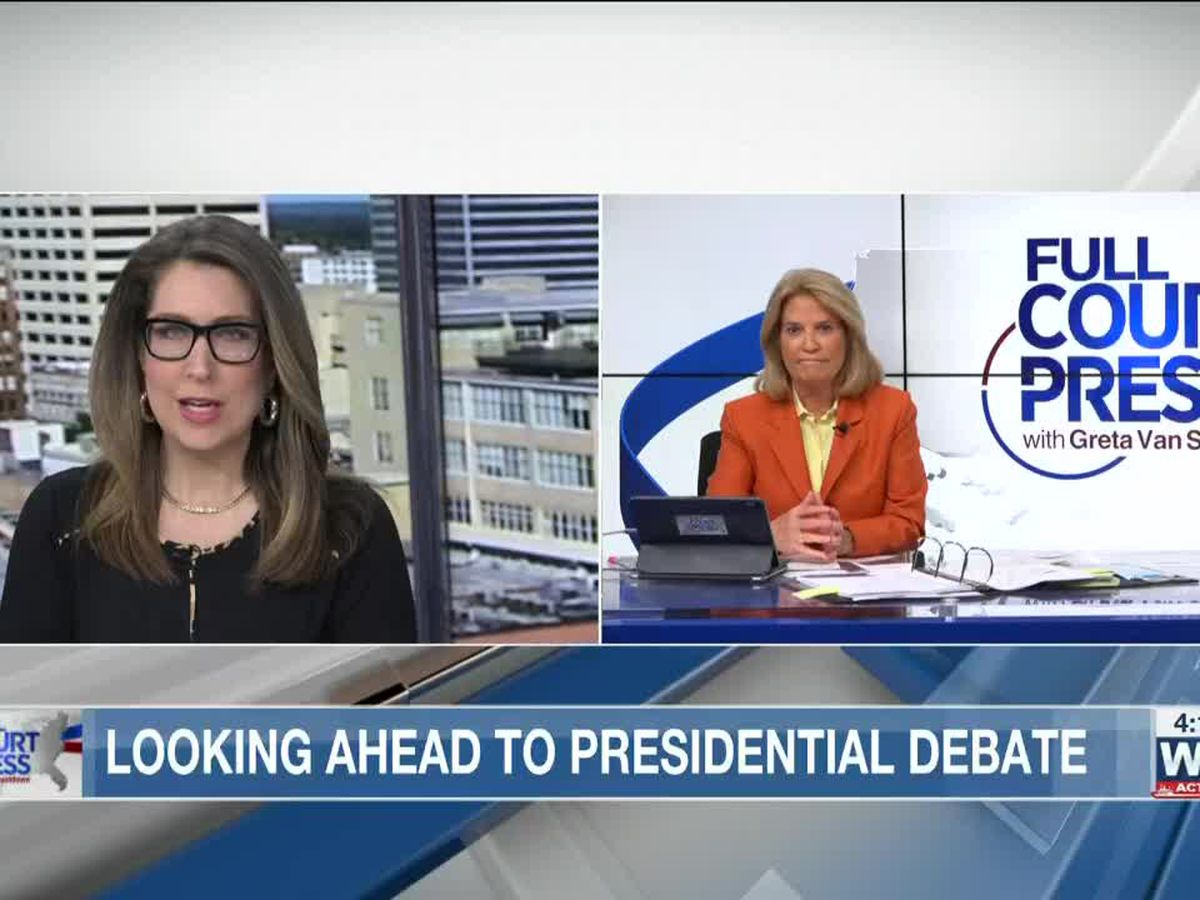 'Full Court Press' host Greta Van Susteren previews what's to come from first presidential debate