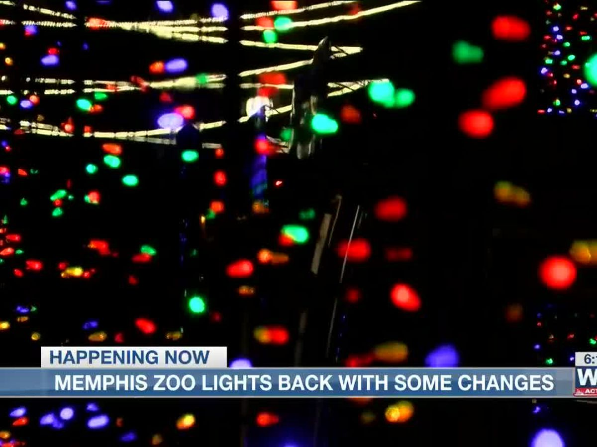 Memphis Zoo Lights returns with a few changes
