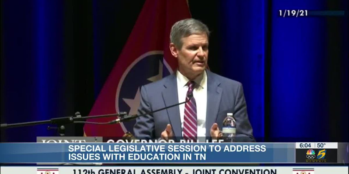 Virtual learning, teacher pay big topics on first day of Tennessee special legislative session