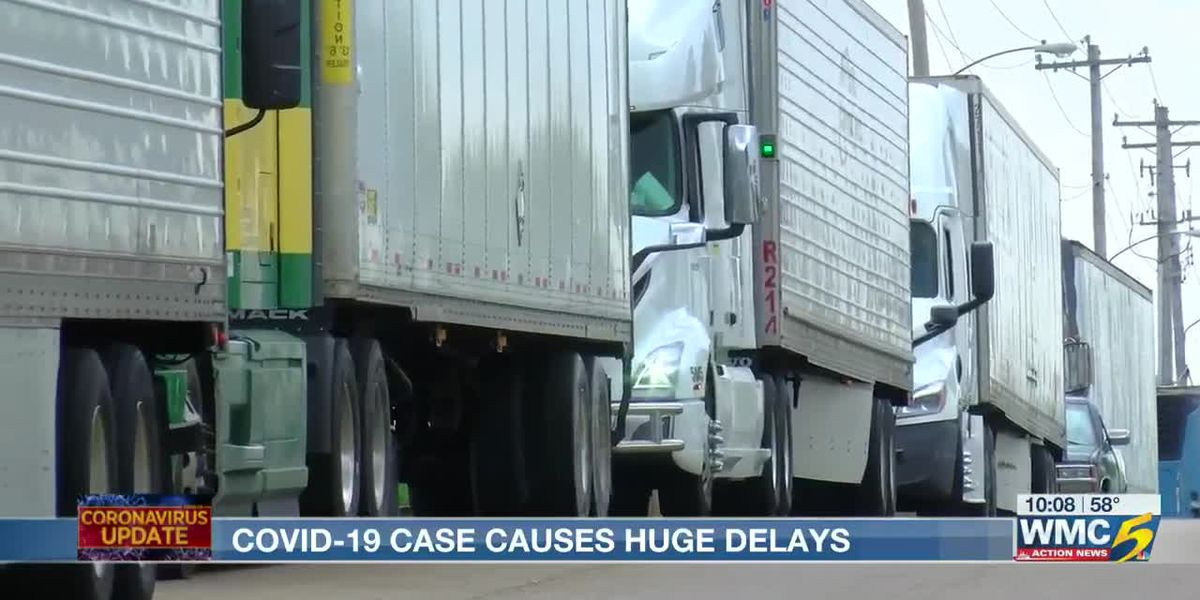 COVID-19 concerns causing delays at Kroger Distribution Center in Memphis