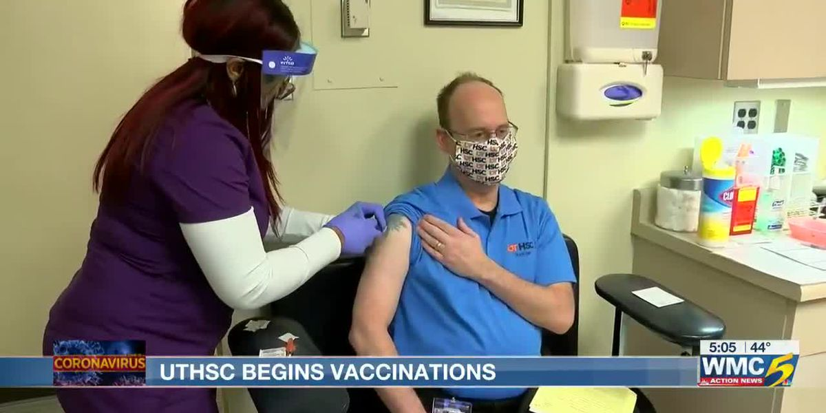 UTHSC vaccinates hundreds of students