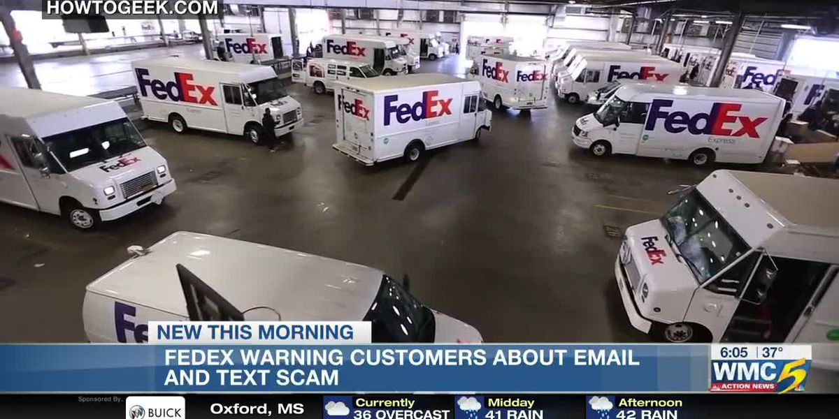 FedEx warning customers about a potential scam