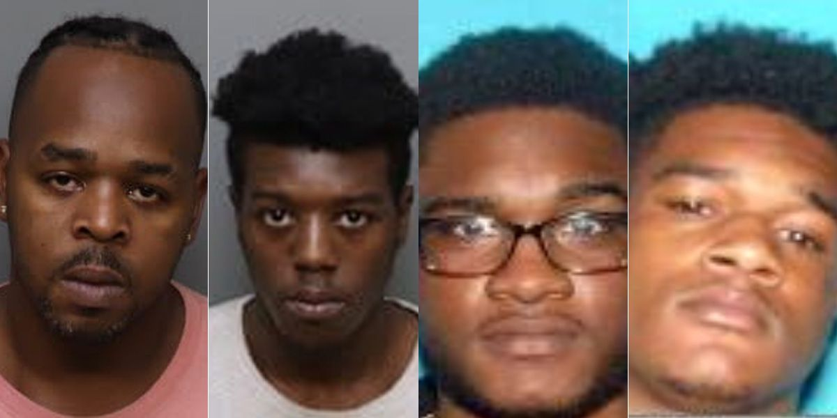 Warrants issued for 4 suspects in connection to I-240, Poplar shooting