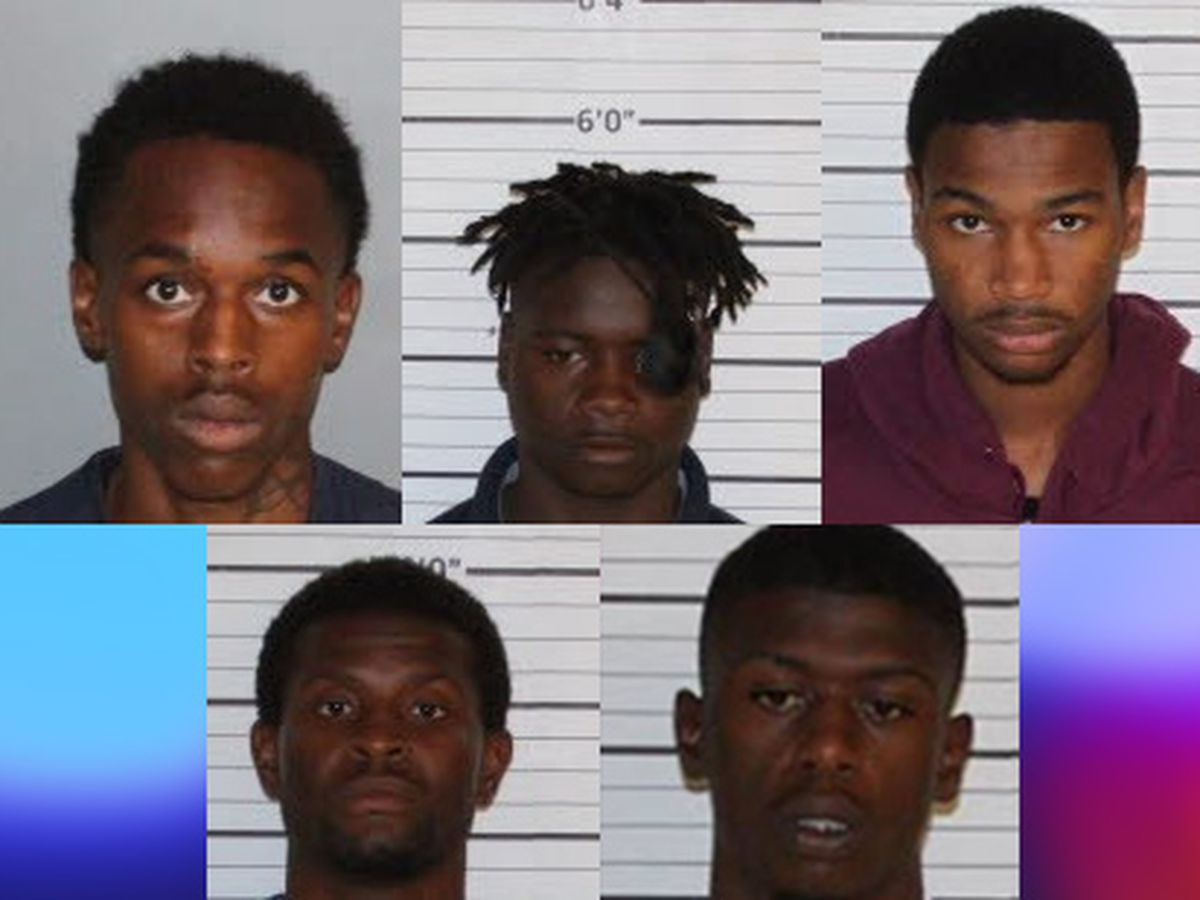 Sting nets 5 Memphis carjacking arrests