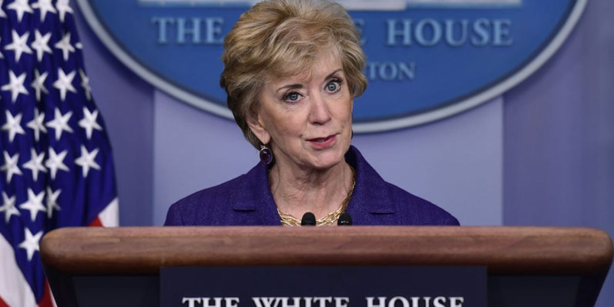 Linda McMahon is reportedly leaving Small Business Administration for private sector
