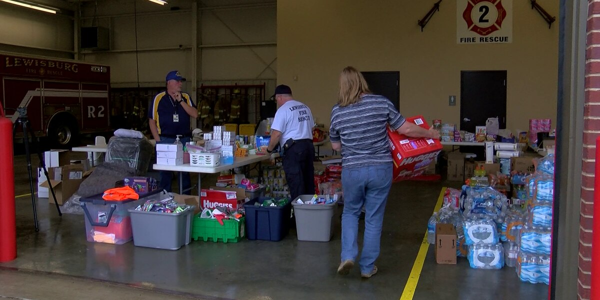 Donations pour in as crews clean up debris in DeSoto County