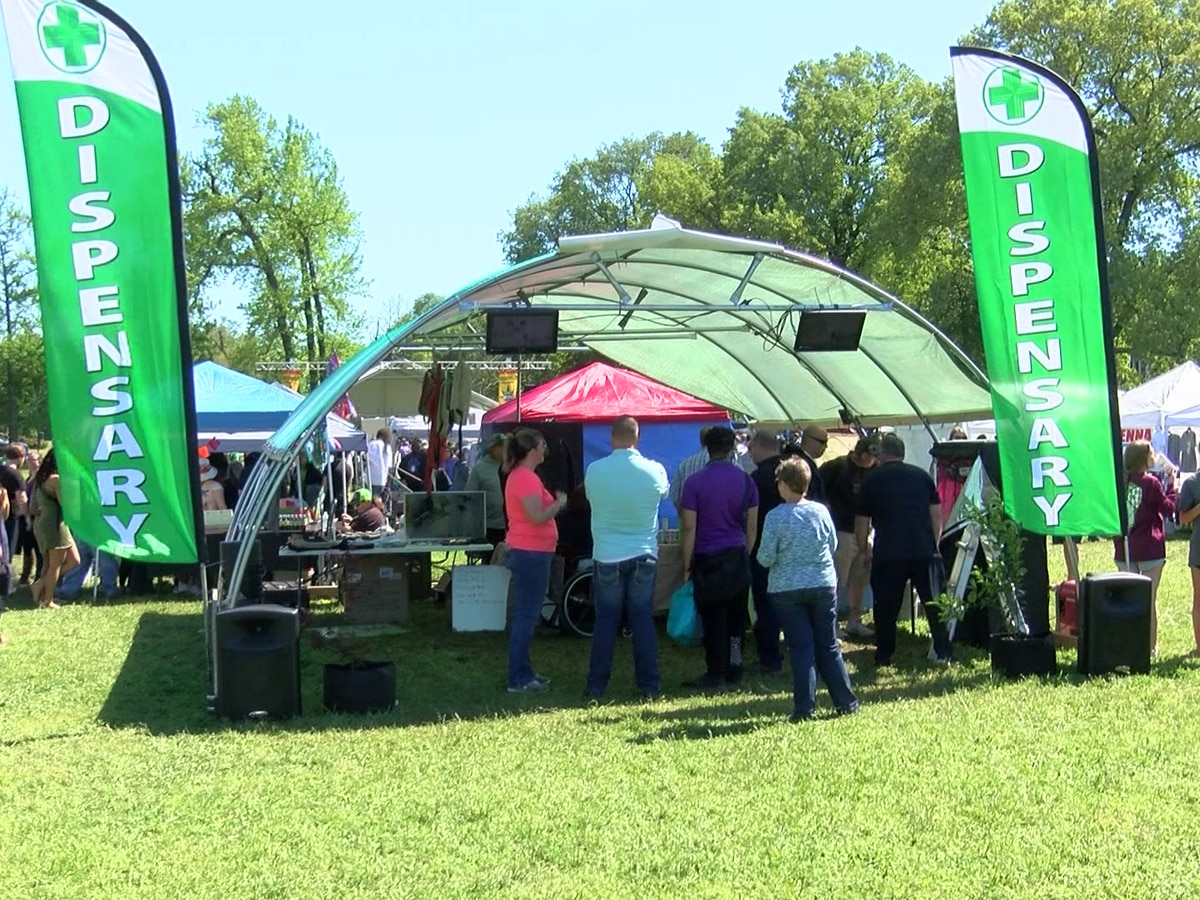 Hundreds gather for first Mid-South Hemp Festival