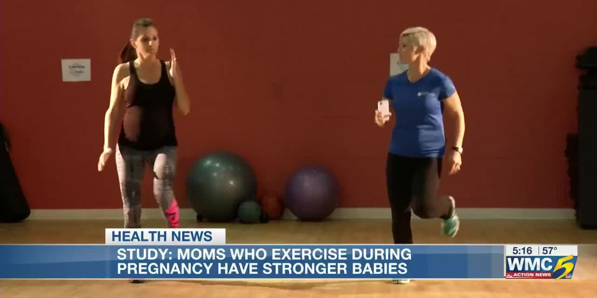 Working out while pregnant can benefit your baby's motor skills
