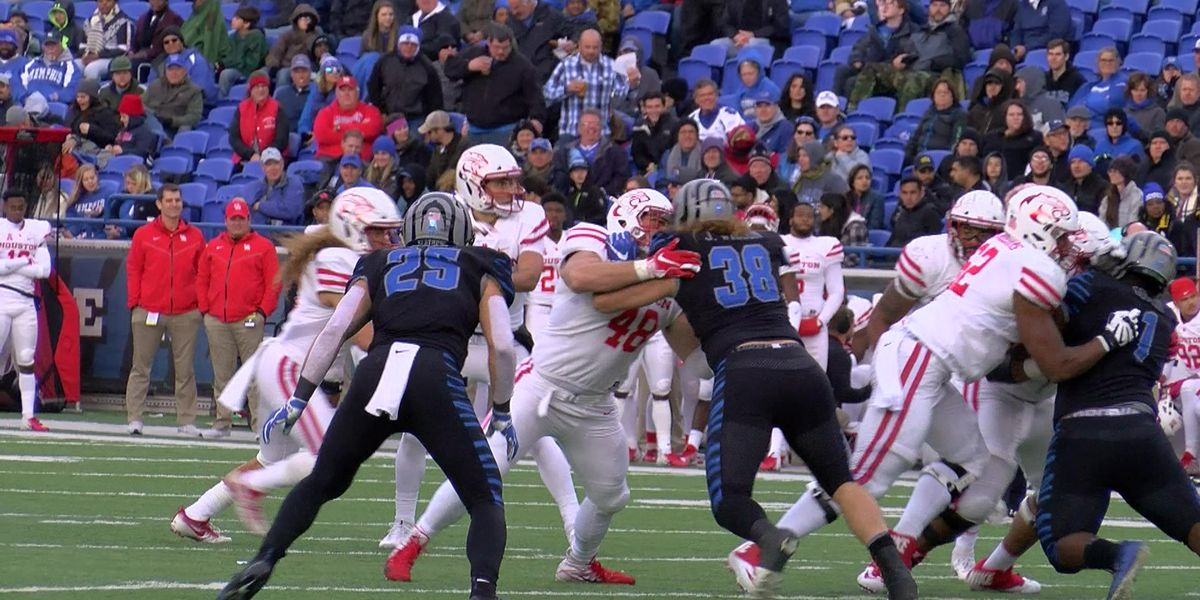 UofM beats Houston; becomes AAC West Division Champions for 2nd year