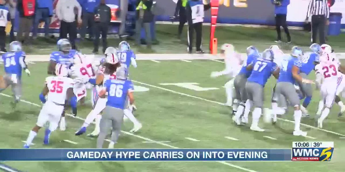 U of M vs. SMU game brings record crowd to Liberty Bowl