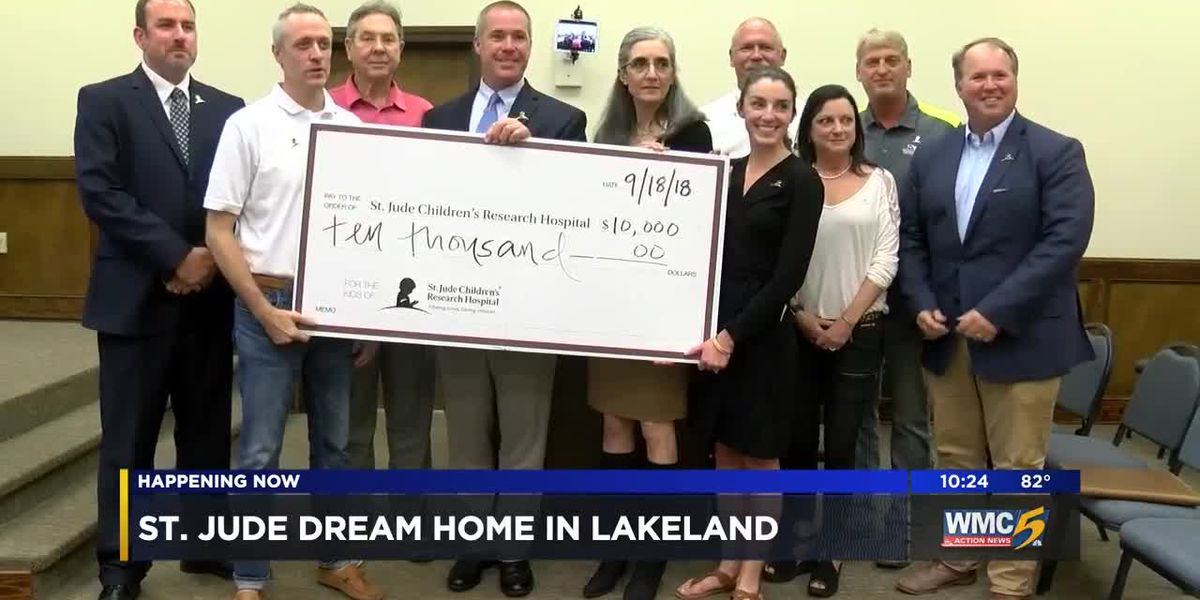 2019 St. Jude Dream Home will be built in Lakeland