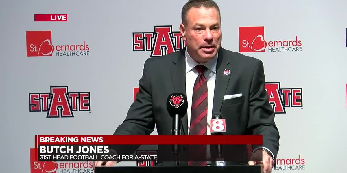 A-State officially welcomes new Head Coach Butch Jones