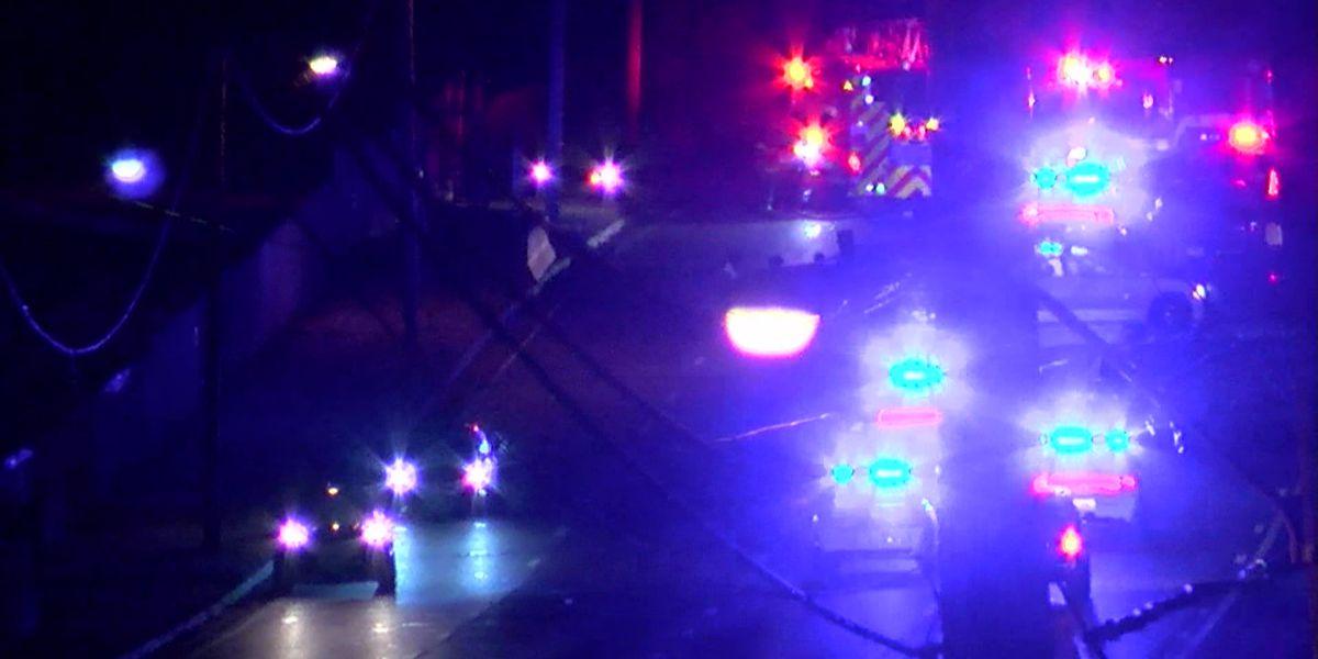 1 killed in fiery crash near airport
