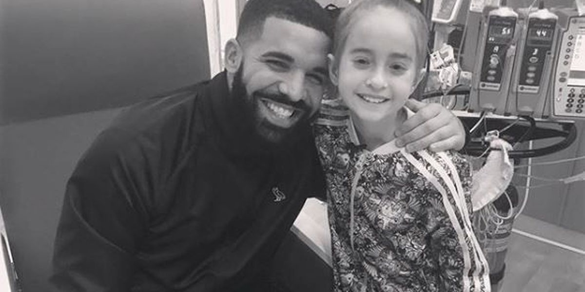Drake surprises young fan in need of heart transplant