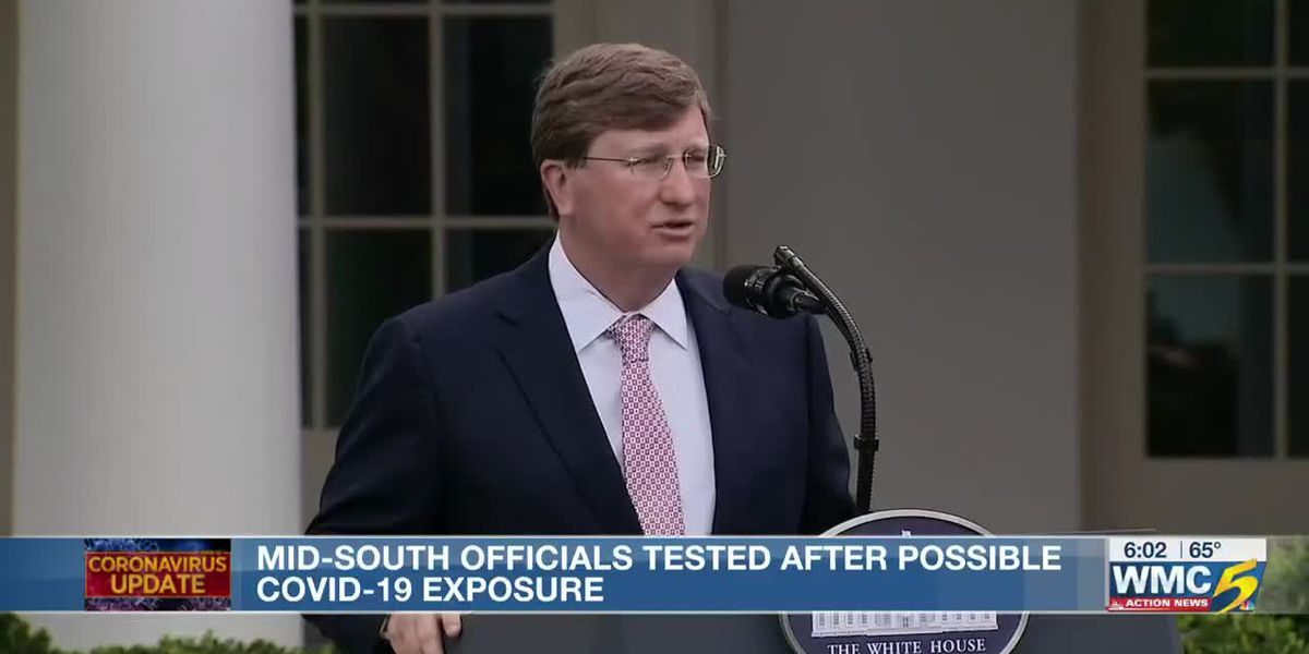 Mid-South lawmakers get tested for COVID-19 after contact with President Trump