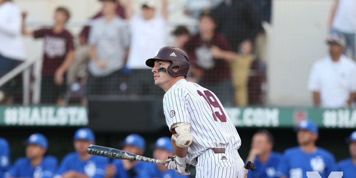 Twins select MSU 1B Rooker in first round of MLB Draft