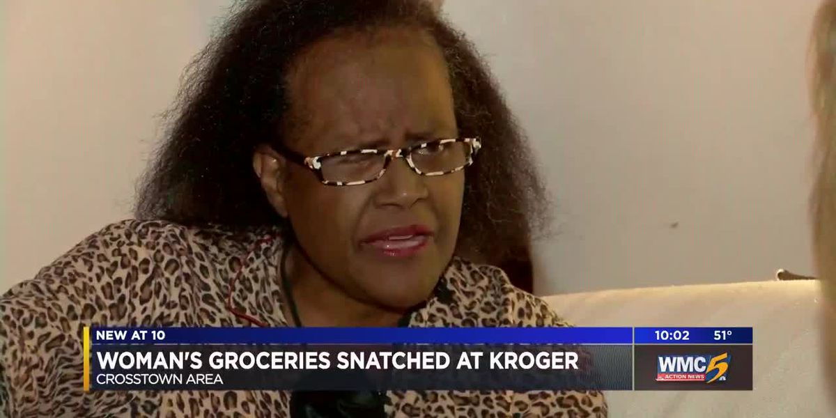 Woman's groceries snatched at Kroger