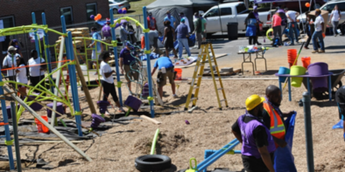 Community playground opens in South Memphis