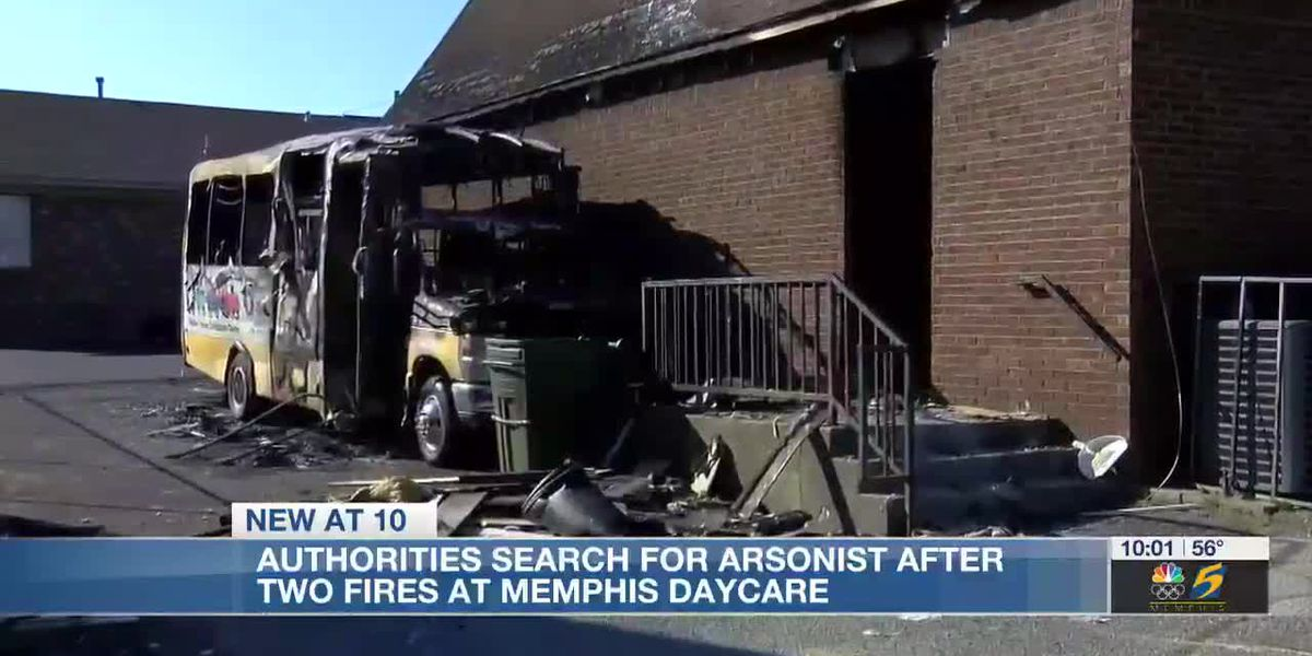 Authorities search for arsonist after two fires at Memphis Daycare