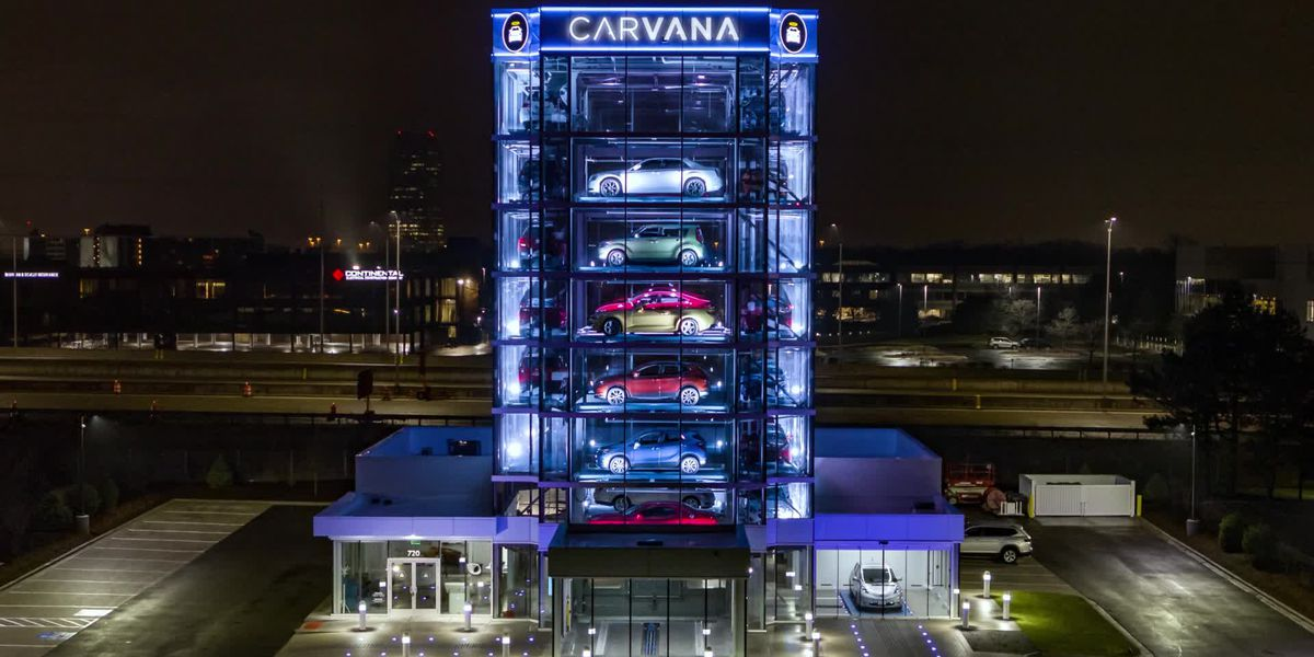 Memphis is now home to a giant vending machine for cars