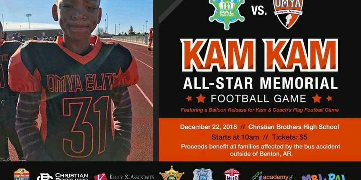 Memorial football game planned for OMYA player who died in bus crash