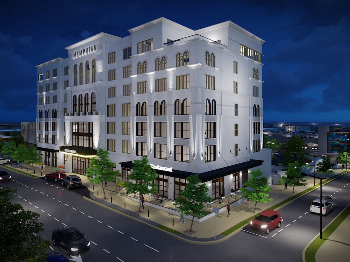 Developer files $16 million building permit for Overton Square hotel