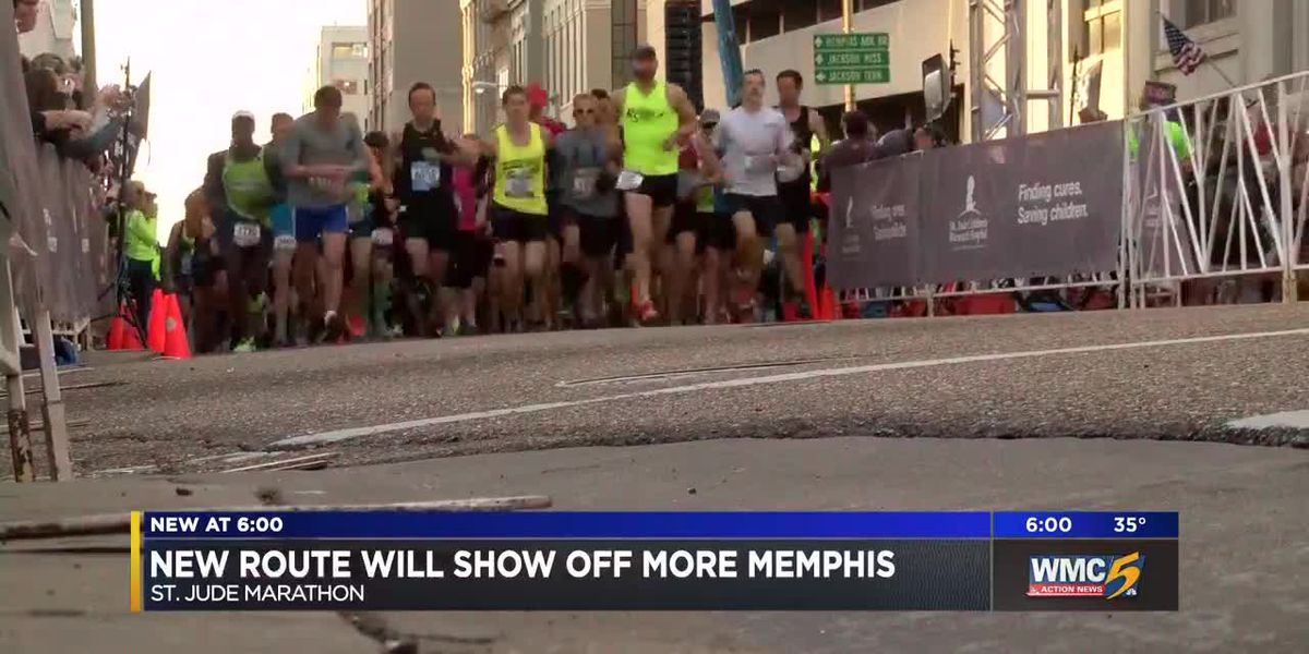New St. Jude marathon route to impact traffic across 20 communities